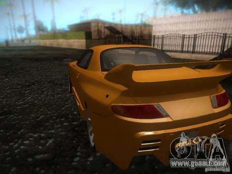 Mitsubishi FTO Tuning for GTA San Andreas back left view