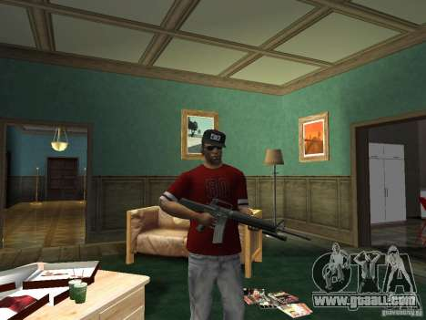 M16 for GTA San Andreas