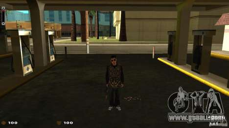 Cs 1.6 HUD for GTA San Andreas