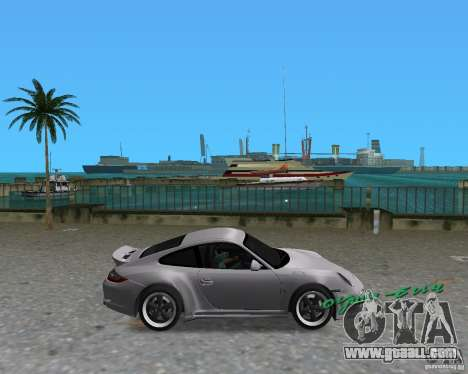 Porsche 911 Sport for GTA Vice City left view