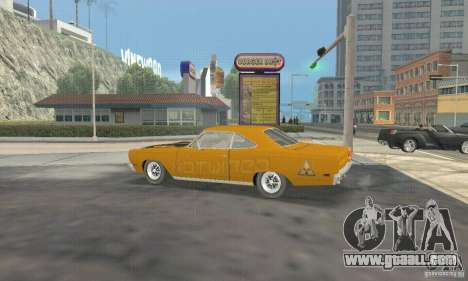 Plymouth Roadrunner 383 for GTA San Andreas right view