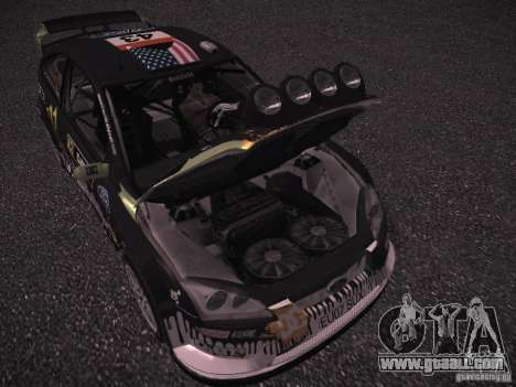 Ford Focus RS Monster Energy for GTA San Andreas inner view