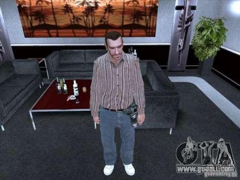 Niko Bellic for GTA San Andreas