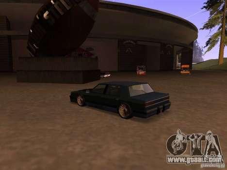 Willard Drift Style for GTA San Andreas left view