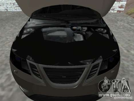 Saab 9-3 Turbo X for GTA San Andreas right view
