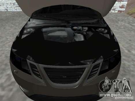 Saab 9-3 Turbo X for GTA San Andreas right view