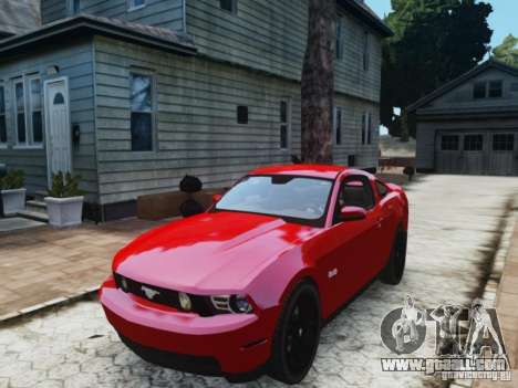 Ford Mustang GT 2011 for GTA 4