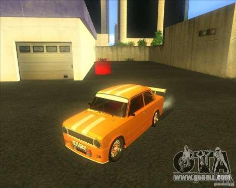 VAZ 2101 explosive car tuning for GTA San Andreas