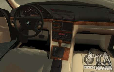 BMW 750i E38 1998 M-Packet for GTA 4 left view