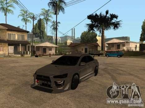 Mitsubishi Lancer Evolution X Drift Spec for GTA San Andreas