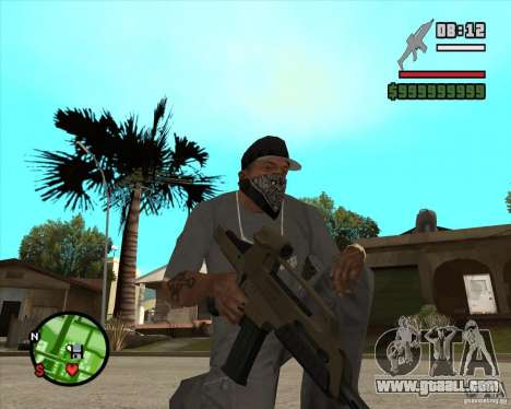 End Of Days: XM8 (HD) for GTA San Andreas second screenshot