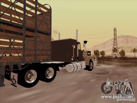 Mack RoadTrain for GTA San Andreas right view