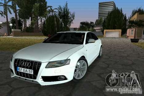 Audi S4 2010 for GTA Vice City