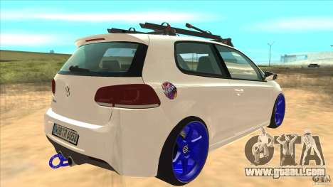 Volkswagen Golf MK6 Hybrid GTI JDM for GTA San Andreas right view