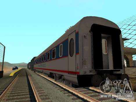 Nevsky express for GTA San Andreas back left view