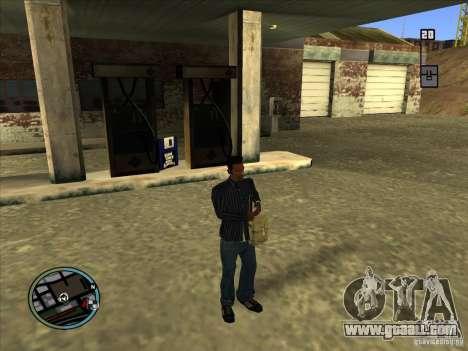 SA IV WEAPON SCROLL 2.0 for GTA San Andreas second screenshot