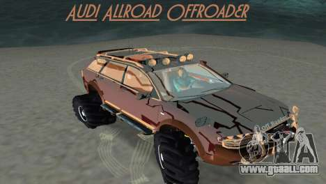 Audi Allroad Offroader for GTA Vice City
