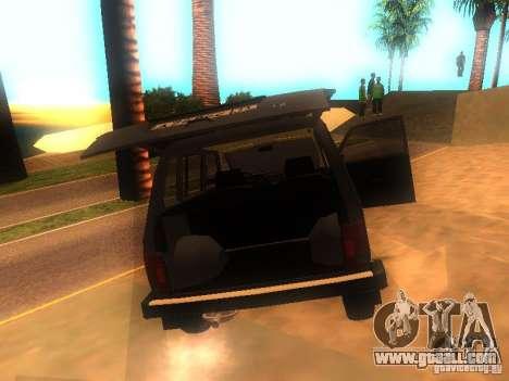 Vaz 2131 NIVA for GTA San Andreas right view