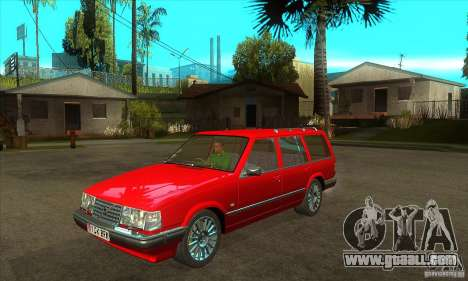Volvo 945 Wentworth R with bodykit (1.2) for GTA San Andreas inner view
