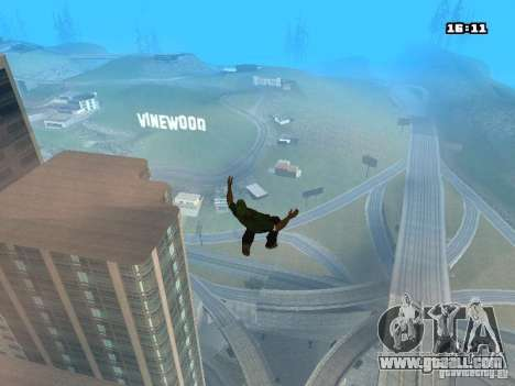 Parkour Mod for GTA San Andreas eighth screenshot