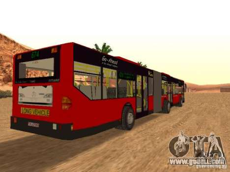 Mercedes-Benz Citaro G for GTA San Andreas back view