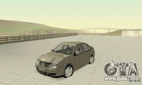 Volkswagen Bora Stock for GTA San Andreas inner view