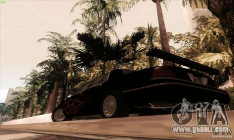 Ford Crown Victoria 2003 for GTA San Andreas bottom view