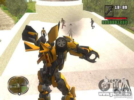 Bumblebee 2 for GTA San Andreas third screenshot