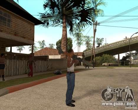 CoD:MW2 weapon pack for GTA San Andreas sixth screenshot