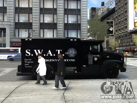 SWAT - NYPD Enforcer V1.1 for GTA 4 right view