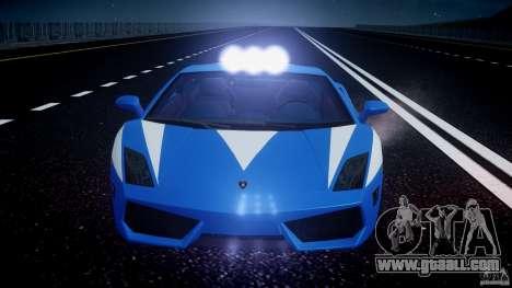 Lamborghini Gallardo LP560-4 Polizia for GTA 4 wheels
