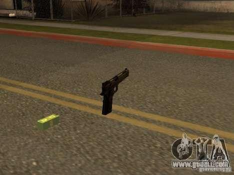 Pistol 9 mm for GTA San Andreas second screenshot