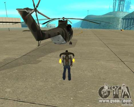 MI-26 for GTA San Andreas back left view