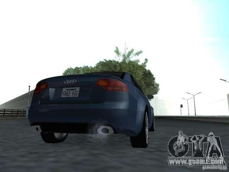 Audi RS4 for GTA San Andreas right view