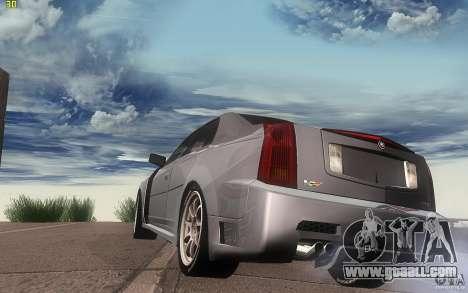 Cadillac CTS-V for GTA San Andreas back left view