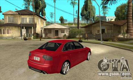 Audi RS4 2006 for GTA San Andreas right view
