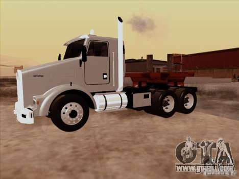 Kenworth T800 Econom for GTA San Andreas right view