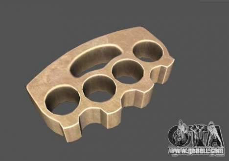 [Point Blank] Brass Knuckles for GTA San Andreas