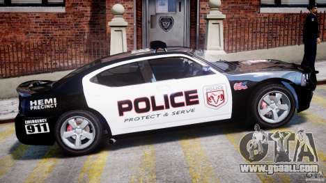 Dodge Charger NYPD Police v1.3 for GTA 4 bottom view
