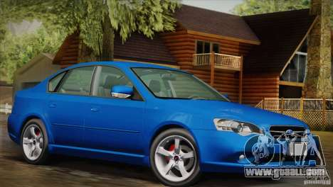 Subaru Legacy 2004 v1.0 for GTA San Andreas right view