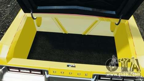 Dodge Monaco 1974 Taxi v1.0 for GTA 4 bottom view