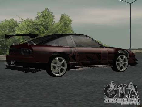 Nissan 240 SX for GTA San Andreas right view