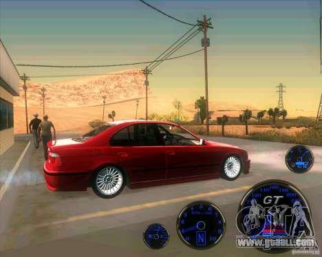 BMW E39 530d Sedan for GTA San Andreas left view