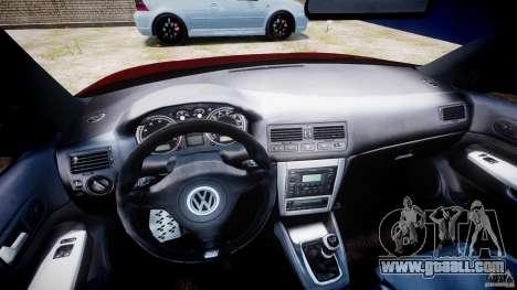Volkswagen Golf IV R32 v2.0 for GTA 4 back view