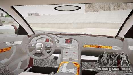 Audi A6 Allroad Quattro 2007 wheel 1 for GTA 4 back view