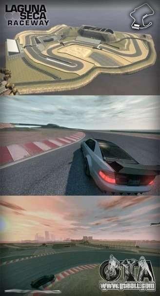 Laguna Seca ( Final ) for GTA 4 third screenshot
