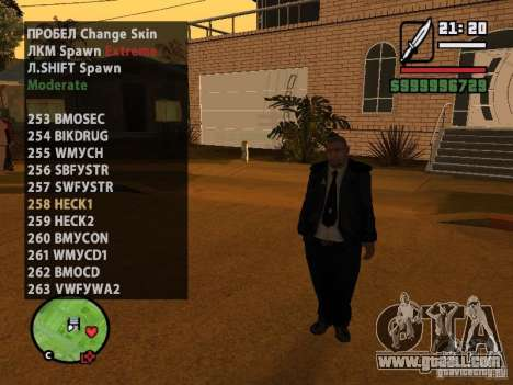 GTA IV peds to SA pack 100 peds for GTA San Andreas sixth screenshot
