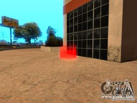 Concert of the AK-47 v 2.5 for GTA San Andreas third screenshot