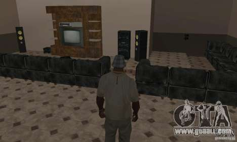 New Interiors - Mod for GTA San Andreas