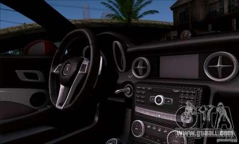 Mercedes Benz SLK55 R172 AMG for GTA San Andreas back view